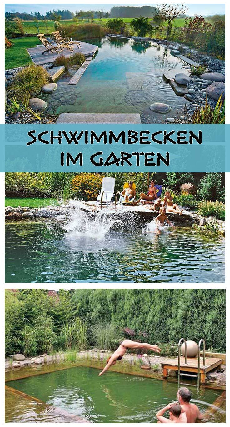 Ein eigener Pool ist doch etwas schönes! Noch schöner ist da nur ein natürlicher Schwimmteich, der sich in die Landschaft einfügt. Wir zeigen den Bau von unterschiedlichen Schwimmbecken für den Garten.