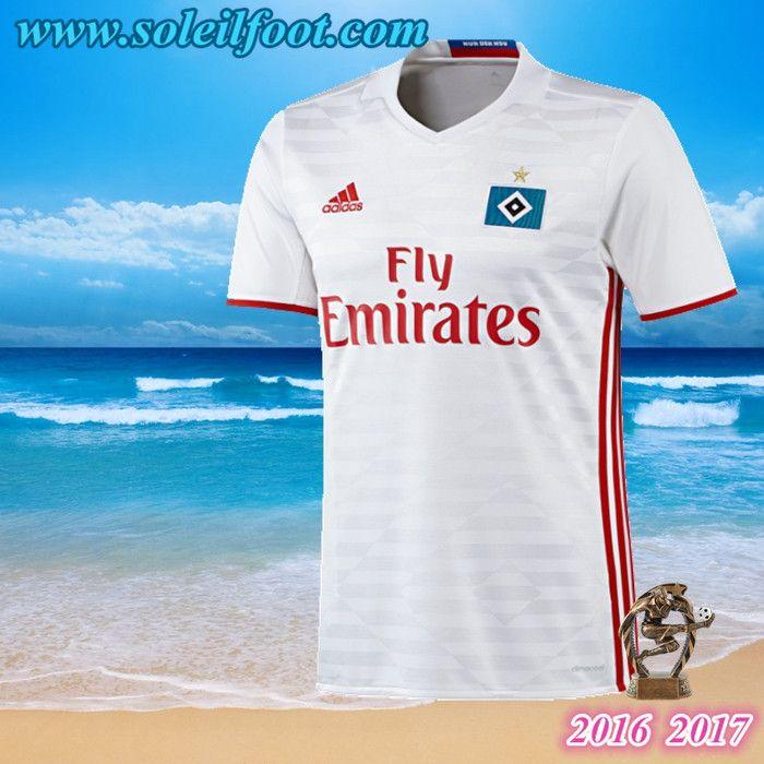 Maillot Du Hamburger SV Domicile 2016-2017 Pas Cheres