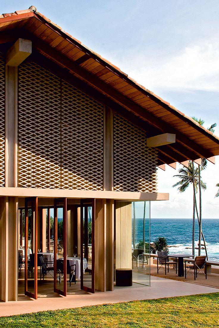 5. Amanwella (Sri Lanka) - AD España, © D.R. Desde el restaurante del hotel puedes desayunar viendo la playa.
