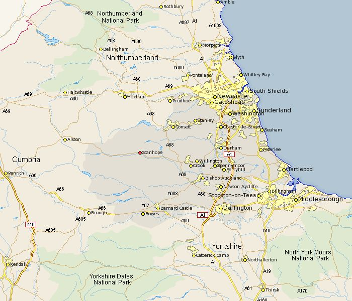 214 best north east england maps images on pinterest newcastle