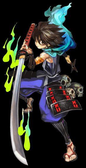 Kisuke from the game Muramasa: The Demon Blade.
