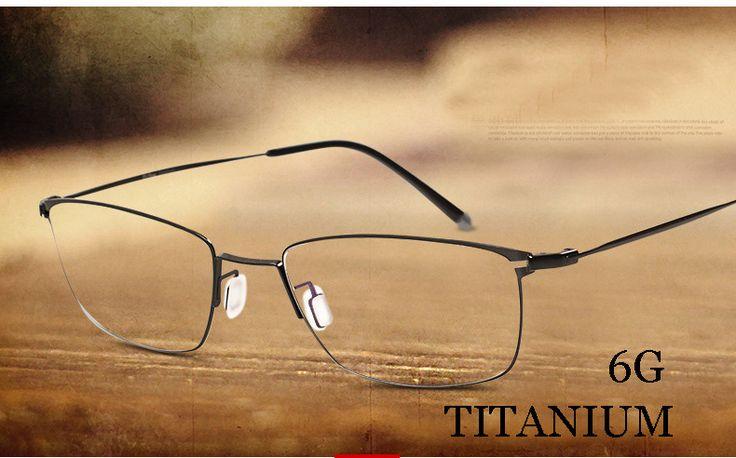 Titanium metal frame glasses prescription glasses online fashion brand designer eyeglasses marcos de lentes opticos OPTICAL
