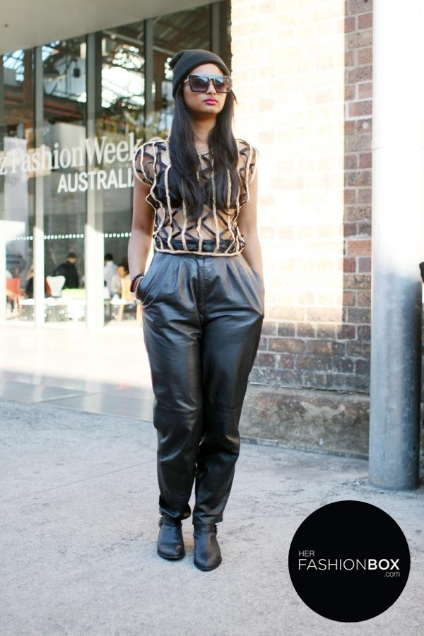 MBFWA 2013 street style sydney fashion week australia