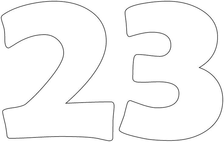Simple Numbers Twenty-Three