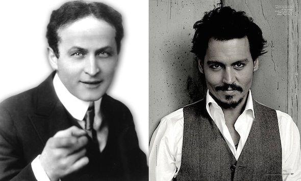 Johnny Depp se meterá en la piel del mago Houdini