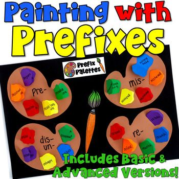 This engaging activity puts a fun spin on learning the meanings of common prefixes! It also makes a creative bulletin board or school hallway display! It can even be used as a valuable addition to your students' interactive notebooks! This resource includes two versions to allow for