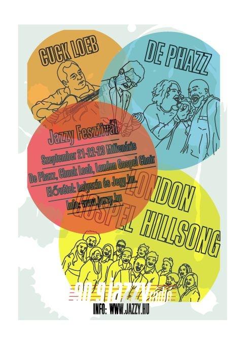 jazzy fm presents plakátterv