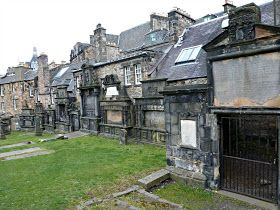 Greyfriar's Kirkyard, Edinburgh, Scotland - has some gravestones with names that inspired Harry Potter characters