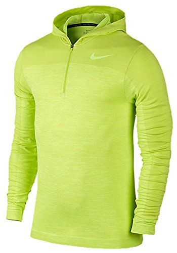 Nike Mens Dri-Fit Knit Long Sleeve Training Top Hoodie Volt  //Price: $ & FREE Shipping //     #sports #sport #active #fit #football #soccer #basketball #ball #gametime   #fun #game #games #crowd #fans #play #playing #player #field #green #grass #score   #goal #action #kick #throw #pass #win #winning
