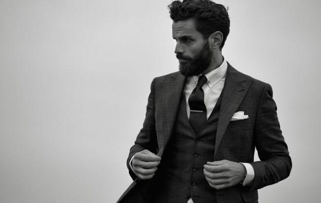 Бородатые мужчины. Самый стильный и сексуальный жених 2015 Image: 24
