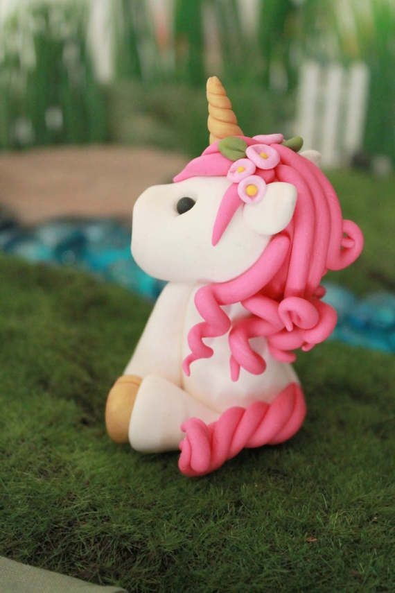 Unicorn Cake Topper  Animal Cake Topper  Birthday  Baby