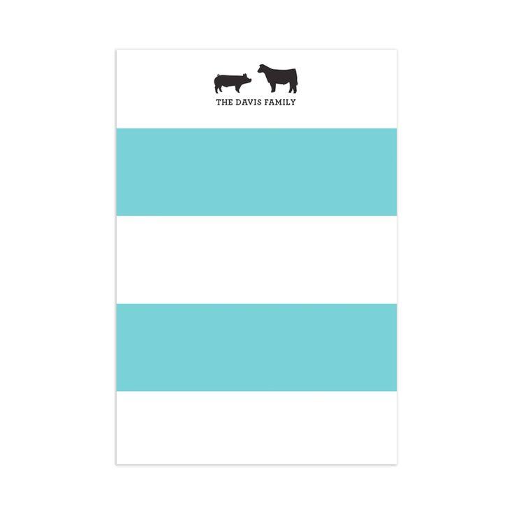 Brody Stripes Notepad