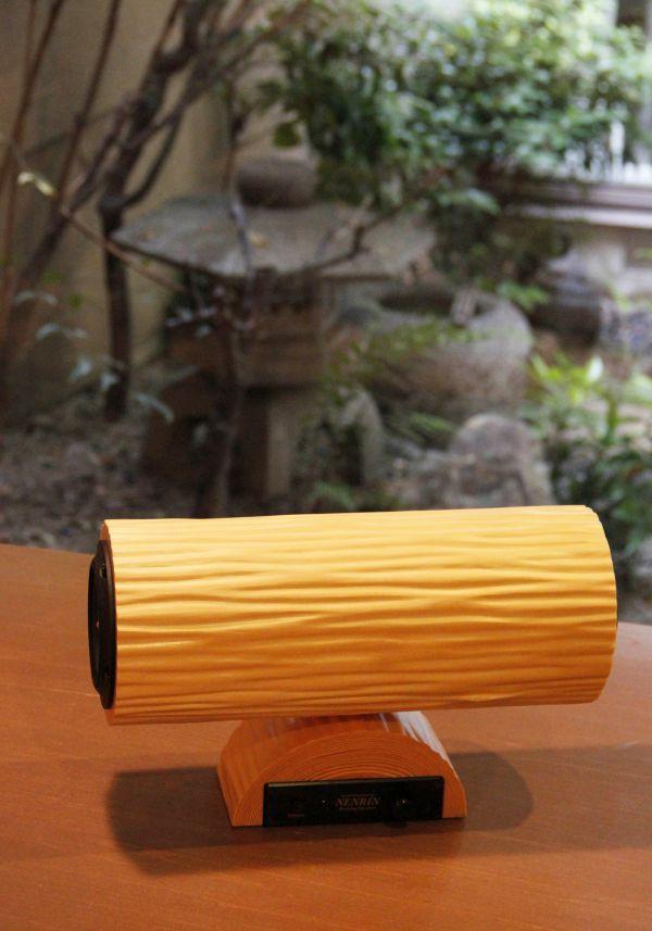 床柱で知られる京の銘木「北山杉」が美しい Bluetooth スピーカー「NENRIN」に - えんウチ