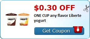 New Coupon!  $0.30 off ONE CUP any flavor Liberte yogurt - http://www.stacyssavings.com/new-coupon-0-30-off-one-cup-any-flavor-liberte-yogurt-5/