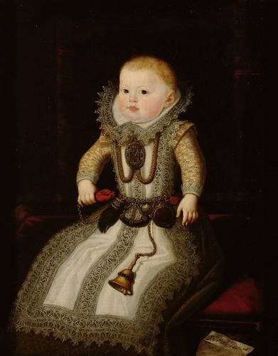 Infanta Maria Anna, 1604, by Juan Pantoja de la Cruz