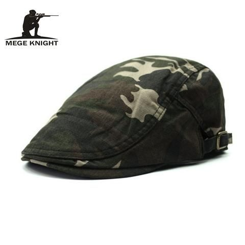 Spring Autumn Summer Men Woman Camouflage Beret Hat Military style Cap – RealMenStuff