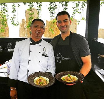 Cooking Class With Chef Jay is always be a great experience. Photo by @frappeshaker  https://goo.gl/hSiWJq