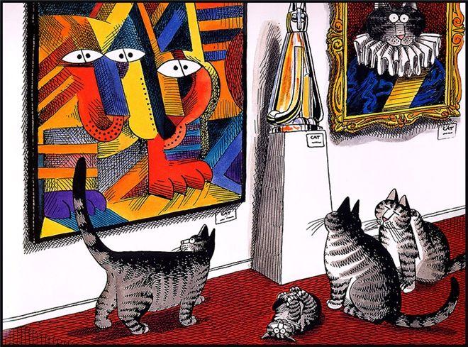 Bernard Kliban. Cat Dreams