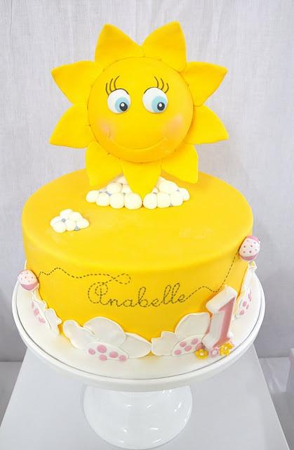 my little sunshine's 1st Birthday party