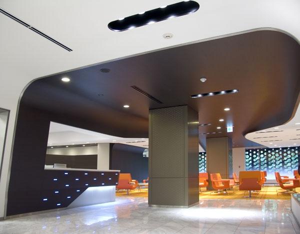 Interior Design Magazine - Neil Denari - MUFG Private Banking Office in Japan