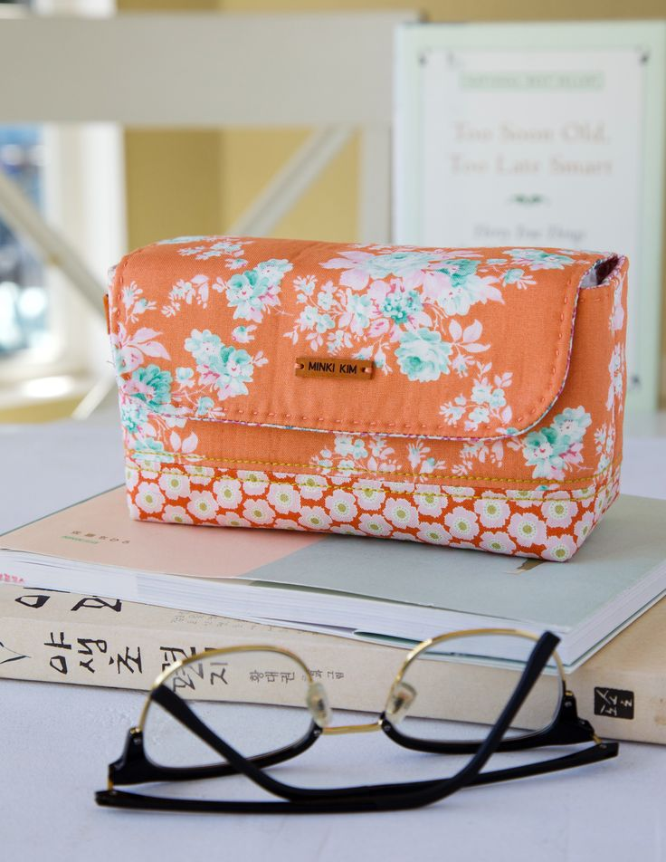 Create a Stationary Pouch that's the perfect size to hold pens, pencils, and a glue stick for writing letters or back-to-school time.