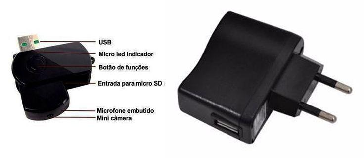 Micro Câmera Espiã Básica Para Carro