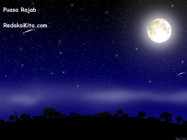 Puasa Rajab - Bulan Rajab adalah salah satu bulan haram, yang termasuk bulan haram ada 4 yaitu bulan Rajab, Dzulqa'dah, Dzulhijjah dan bulan Muharram.