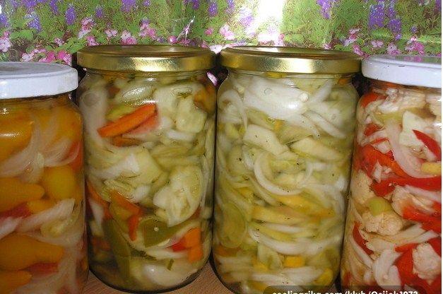 Miješana salata za zimu - ili preljev za sve vrste zimnice - nešto jako jednostavno, ukusno ~ Magazin-Recepti