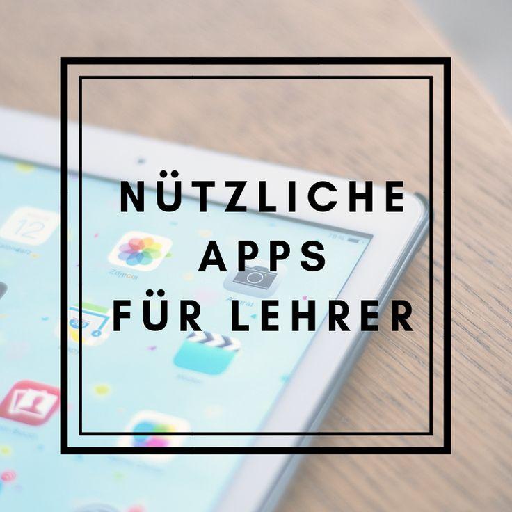 Mithilfe von Apps können Lehrer ihren Alltag in d…