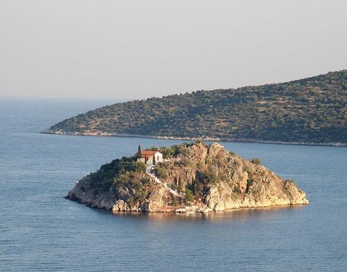 Greece Tolo Apartments Blue Sky