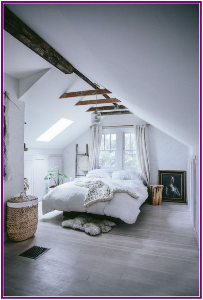 29 Awesome Small Apartment Decorating Ideas For Couple Aux Pays Des Fleurs Com Modern Rustic Bedrooms Attic Bedroom Small Remodel Bedroom