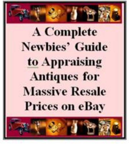 A Complete Newbies' Guide to Appraising Antiques for Mass... http://www.amazon.com/dp/B00EY56AY2/ref=cm_sw_r_pi_dp_XzWjxb1X4FG8T