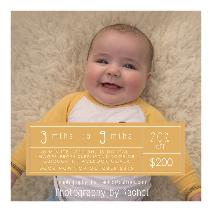 Baby photography, photography special