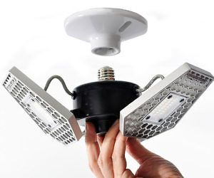 Motion Activated Garage Ceiling Light
