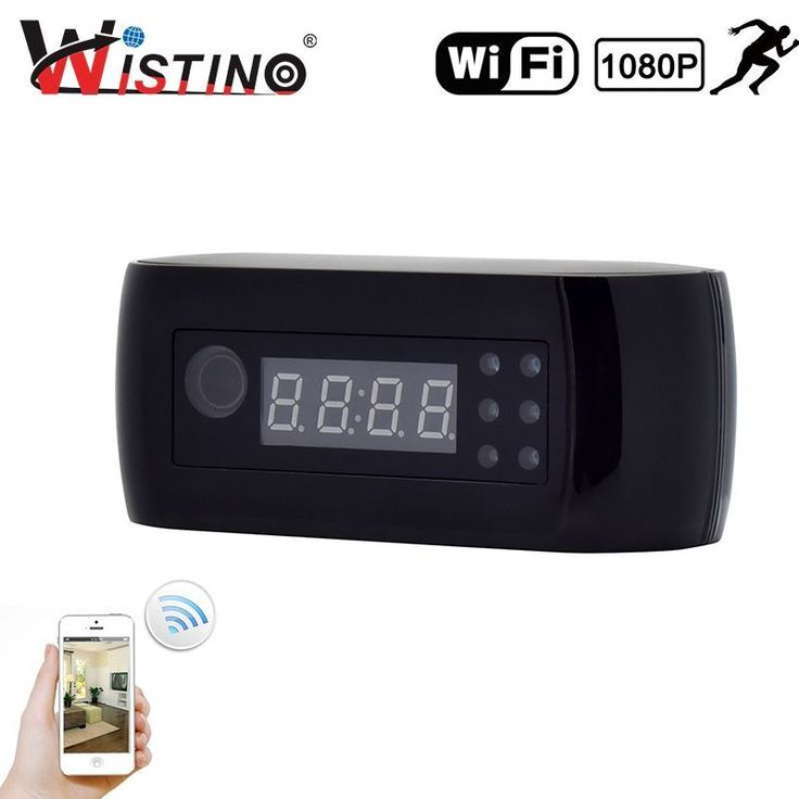 Find More Surveillance Cameras Information about Wistino 1080P WIFI Mini Camera Time Alarm Wireless Nanny Clock P2P CCTV Home Security IP Camera Night Vision Motion Detection ,High Quality motion detection,China p2p cctv Suppliers, Cheap security ip from WISTINO Franchise Store on Aliexpress.com #homesurveillancecameras