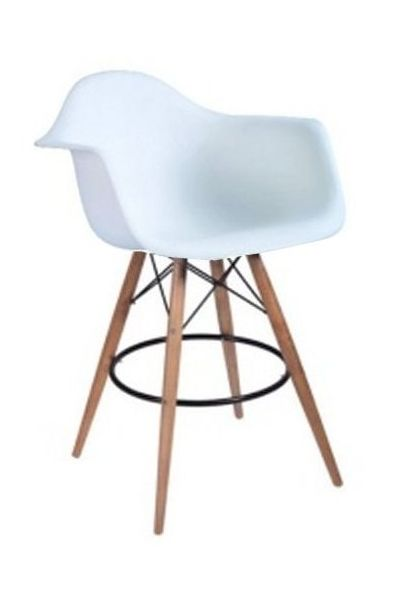 Kitchen stool in black or white. #decor #interior #stool #kitchen #chair #chaircrazy #southafrica