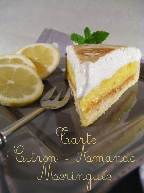 Tarte Citron - Amande Meringuée