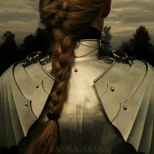 Joan of Arc perhaps or Boedica. Woman warrior is one of the potent symbols of womanhood.  I never cease to be stirred by their courage, even when I do not know of their deeds in this man's world of wars.