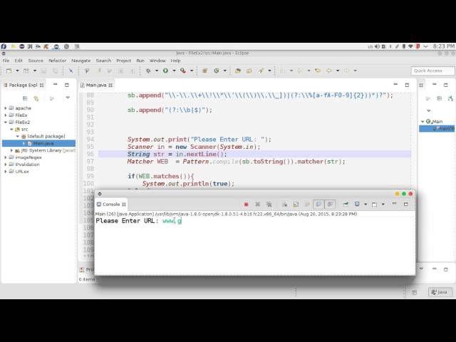 62 Java Advanced Regex Url Stringbuilder التعابير المنطقية الروابط Scanner