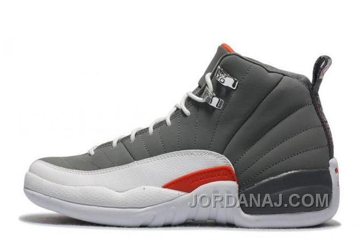 http://www.jordanaj.com/cheap-air-jordan-12-retro-cool-grey-whiteteam-orange-for-sale-5572.html CHEAP AIR JORDAN 12 RETRO COOL GREY/WHITE-TEAM ORANGE FOR SALE 5572 Only $88.00 , Free Shipping!