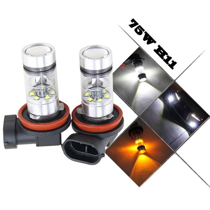 $19.80 (Buy here: https://alitems.com/g/1e8d114494ebda23ff8b16525dc3e8/?i=5&ulp=https%3A%2F%2Fwww.aliexpress.com%2Fitem%2F75W-High-Power-Super-Bright-6000K-Xenon-White-H11-H8-H16-Type-2-LED-Bulbs-for%2F32767932670.html ) 75W High Power Super Bright 6000K Xenon White H11 H8 H16 Type 2 LED Bulbs for Fog Light Lamp Replacement Hid Halogen Headlight for just $19.80