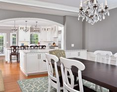 Dovetail - Sherwin Williams - a beautiful medium gray with warm brown undertones.
