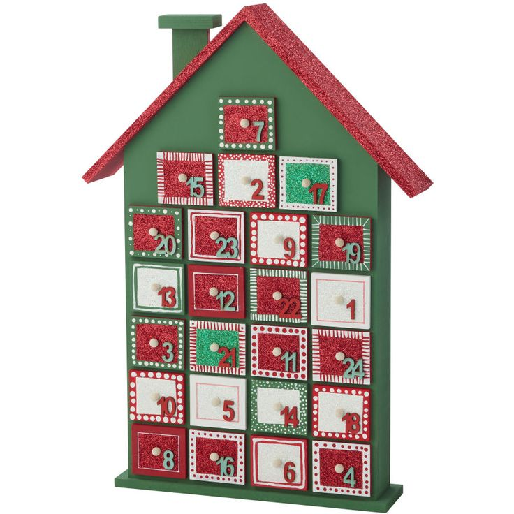 Advent Calendar Ideas Uk : Best christmas advent wooden house calendar images on