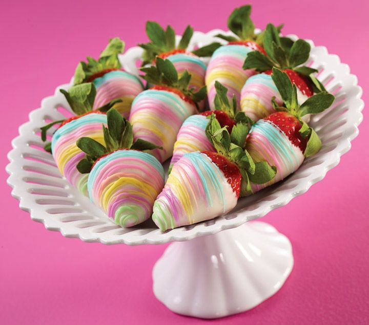 Sweet and easy dipped strawberries using Candy Melts® candy. Wilton makes it easy to match your candy colors with your event. Candy Melts® are available in a variety of colors.