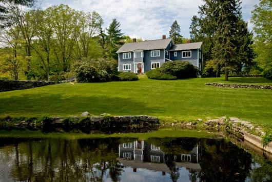 Breathtaking! Idyllic 18+ acre estate with spacious farmhouse, 1860s barn with studio and income apartment. Stable, pastures, pond, pool, tennis. Gentleman farm potential. Once owned by Mark Twain's daughter - historic treasure exudes elegance.Gentleman Farms, Farms Potential, Exud Elegant, 1860S Barns, Income Apartments, Historical Treasure, Acre Estate, Ponds Pools, Mark Twain