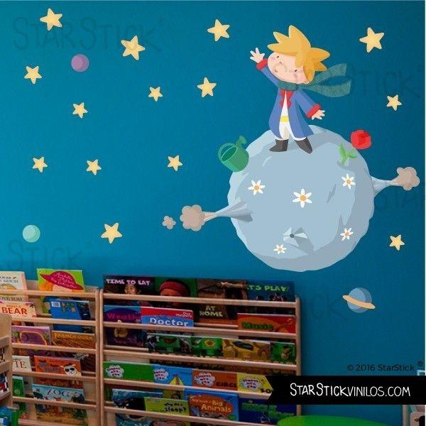 Vinilo beb peque o pr ncipe ni o vinilos educativos y - Dibujos pared habitacion infantil ...