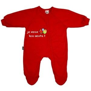 Pyjama bébé de Pâques : je veux les œufs