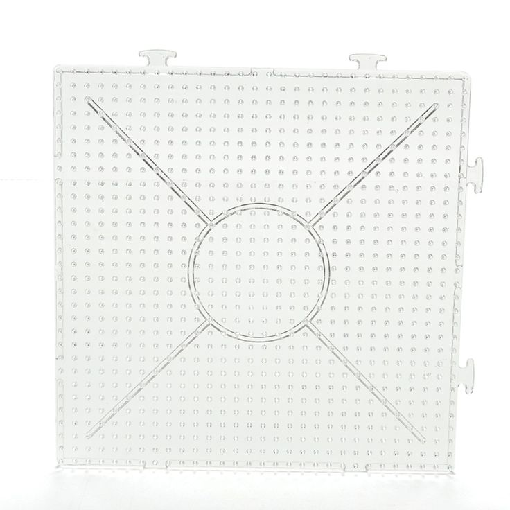 Kids Craft Fuse Beads Square Puzzle Pegboards Patterns For