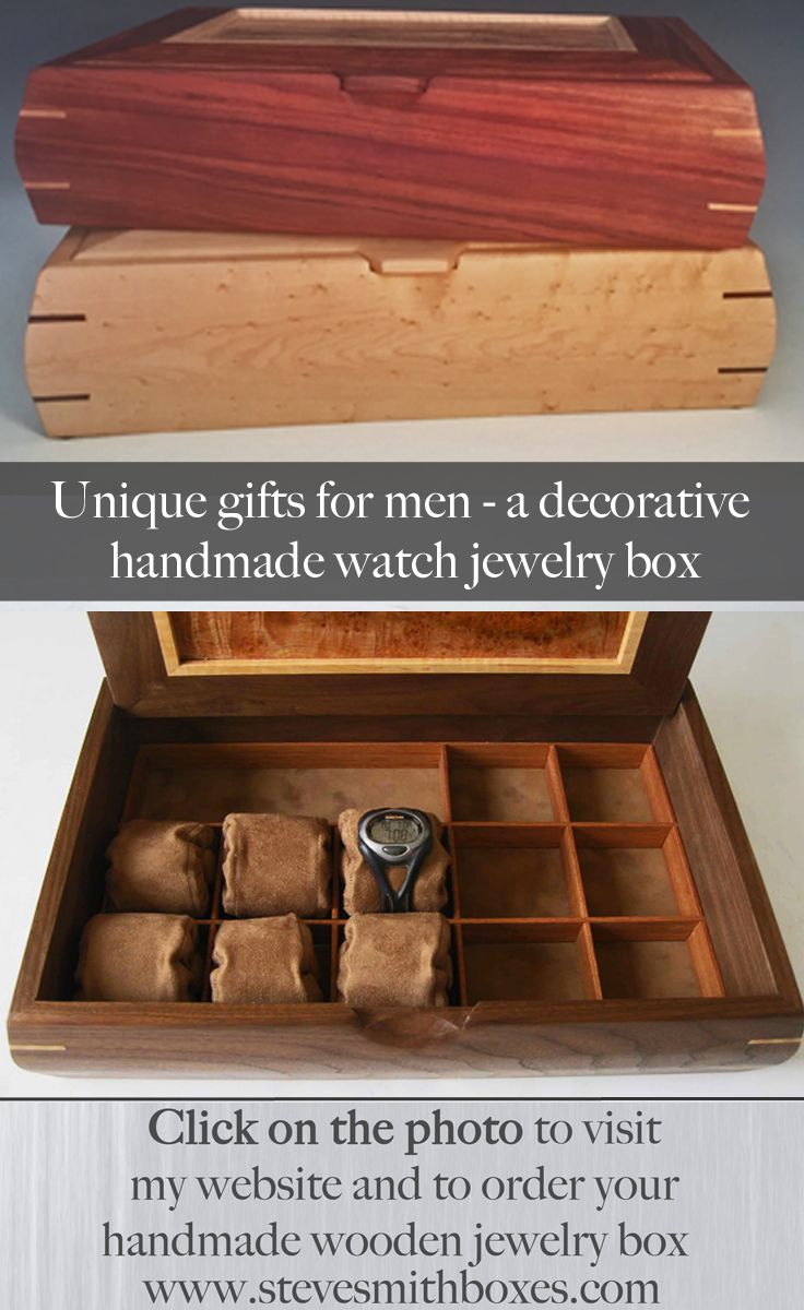 7 best Unique Gifts for Men images on Pinterest Wood crates