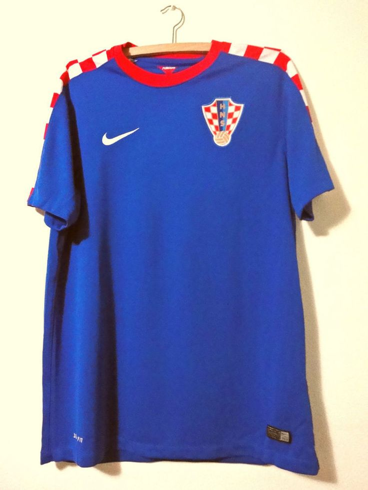 New Croatia Hrvatska Original National Team Home Nike shirt 2014
